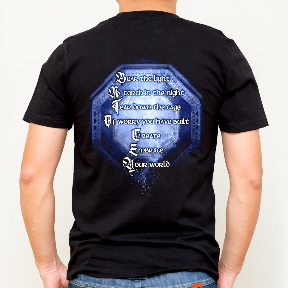 Shards of Light t-shirt back