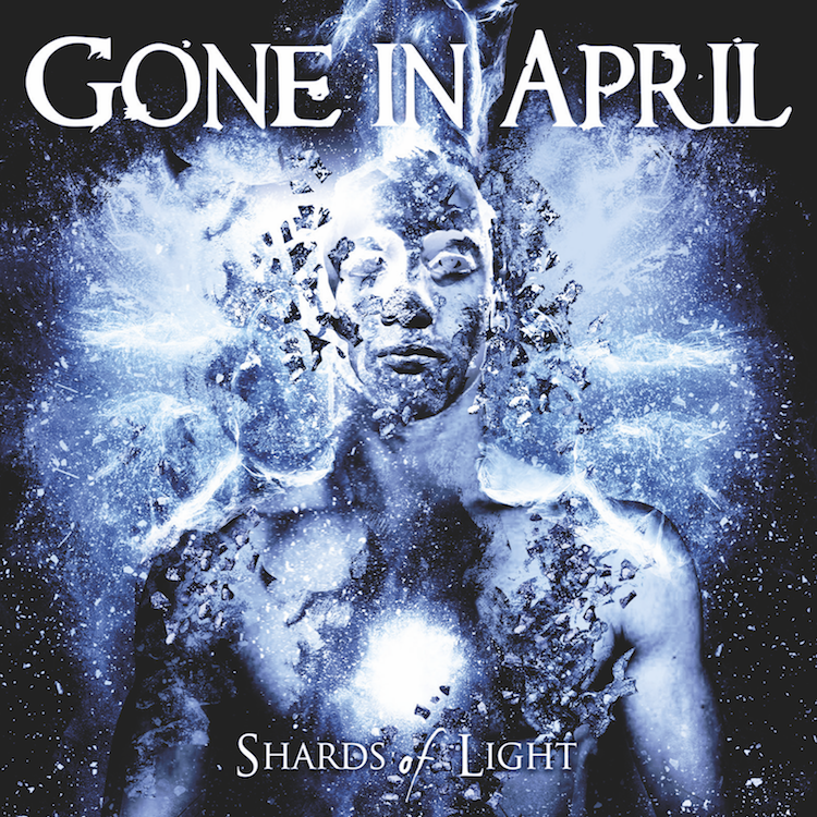 Gone in April Shards of Light album cover